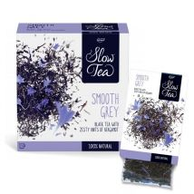 Thé noir smooth grey - slow tea - 25 sachets