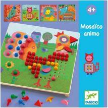 DJECO - Kleurrijke mozaïekspel - Animo