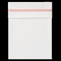 Fresk - Zacht wieglaken - Herringbone Roze