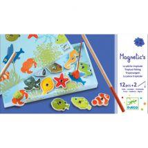 DJECO - Magnetisch Visspel - Tropische Vissen