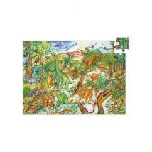 DJECO - Leerrijke puzzel Dinosaurus - 100 stukjes