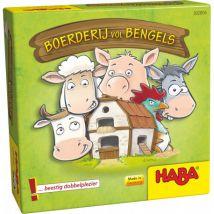 Haba - Beestig leuk denkspel - Boerderij vol bengels Nederlandstalige titel