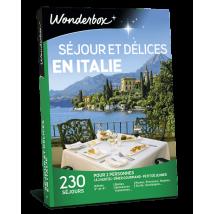 Séjour et délices en Italie - Coffret cadeau Wonderbox - Idée cadeau pour 2 personnes