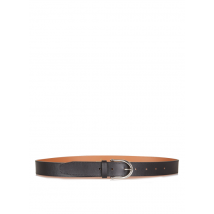 smooth leather belt au printemps paris noir