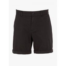 regular-fit stretch cotton bermuda shorts