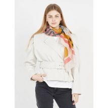 metallic thread printed scarf i code
