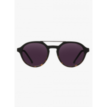 round sunglasses komono matte black/tortoise