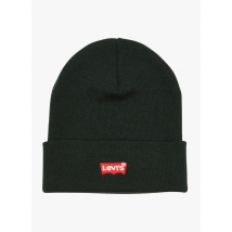 hat with embroidered logo levi's vert foncé