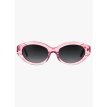 oval sunglasses mize cristal rose - gradient grey