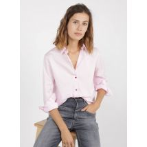 cotton shirt with classic collar paul smith