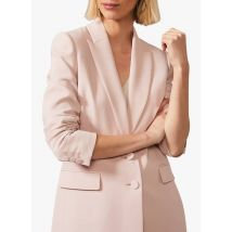 straight tailored jacket phase eight pink