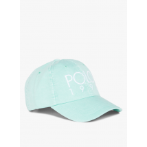 cotton cap with embroidered logo