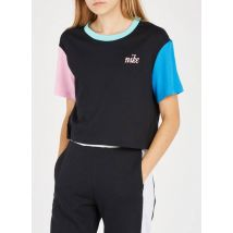 tee-shirt cropped col rond col rond en coton nike