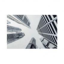 80x120cm black and white printed Plexiglas wall art (80x120x2.5cm) - Maisons du Monde
