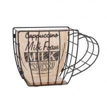Black Metal Cup Capsule Holder - 19x13x8cm - Maisons du Monde