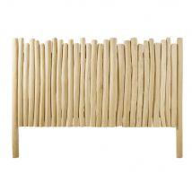 Bleached White Teak Branches 160 Headboard (170x120x7cm) - Maisons du Monde