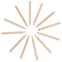 Caja y lápices de colores (x12) - Multicolor - 5.5x5.5x12cm - Maisons du Monde