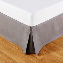Coprirete 90x190 in lino grigio - Grigio - 90x190x30cm - Maisons du Monde