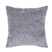 Cuscino in velluto blu 45 cm x 45 cm - Grigio - 45x45x10cm - Maisons du Monde