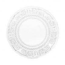 Dessertteller aus Glas , D 18 cm - Transparent - 17.5x0x0cm - Maisons du Monde