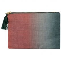 Green and pink pouch - 20x14x0cm - Maisons du Monde