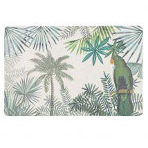 Green Tropical Patterned Placemat (45x29.5x8.8cm) - Maisons du Monde