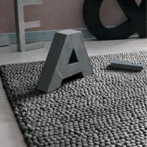 Grey Wool Rug 200x300 - 200x300x2cm - Maisons du Monde