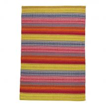 jacquard weave rug, multicoloured 140 x 200cm (140x200x2cm) - Maisons du Monde