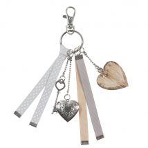 key ring in grey (3x18x0.5cm) - Maisons du Monde