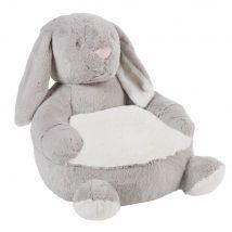 Kindersessel Hase, grau - Grau - 46x42x49cm - Maisons du Monde