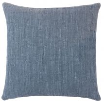 Kissenbezug aus Baumwolle, blau 40x40 - Blau - 40x40x0cm - Maisons du Monde