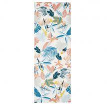 Multicoloured tropical-print deckchair compatible with PANAMA deckchair - 44x124x1cm - Maisons du Monde