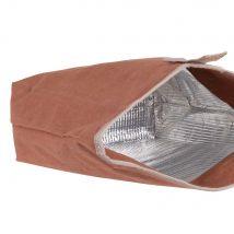 Pink aluminium cool bag - 20x29.5x10cm - Maisons du Monde