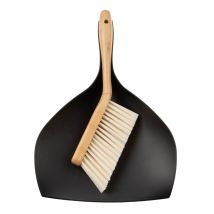 Small Matte Black Bamboo Brushs - 25x8x37cm - Maisons du Monde