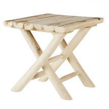Teak side table (40.5x40.5x40.5cm) - Maisons du Monde