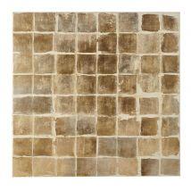 Tela dipinta marrone 100 cm x 100 cm - Marrone - 100x100x3cm - Maisons du Monde