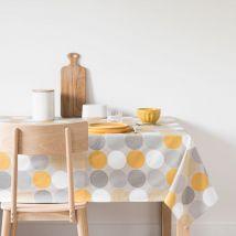 Tischdecke aus Baumwolle, bedruckt mit grafischen Motiven 140x250 - Grau - 150x250x0cm - Maisons du Monde