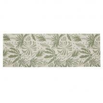 Yoga bag and mat with green and ecru plant motif (61x170x20cm) - Maisons du Monde