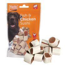 Chick'n snack sushi friandises pour chien 1 sachet lg 2 cm