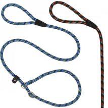 Laisse semi étrangleur montagne rope pour chien 8 mm bleue/verte