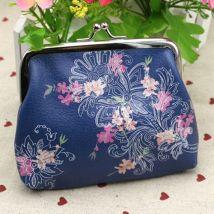 Women Mini Owl Bird Flower Wallet Card Holder Case Coin Purse Clutch Handbag Bag