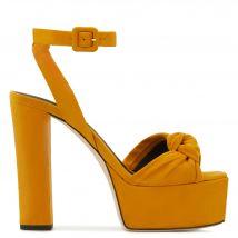 Giuseppe Zanotti BETTY KNOT Womens Platforms Yellow