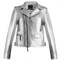 Giuseppe Zanotti BERLYN Womens Jackets Silver