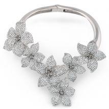 Giuseppe Zanotti BOUQUET Womens Necklaces Silver