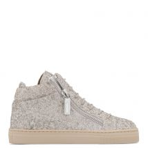 Giuseppe Zanotti KRISS JR. Kids Mid top sneakers Beige