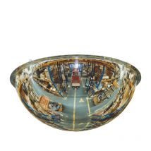 300 x 300 x 240H PANORAMIC Quarter Dome Acrylic Mirror - 3m distance