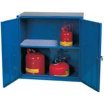 Pesticide Storage Cabinet - 610h x 610w x 305d 1 Door 1 Shelf