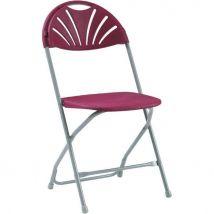 Series 2000 Folding Chair Burgundy (Pk 8)