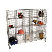 Wire Mesh Lockers with 2 Doors & 40 Compartments 830w x 457d