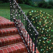 Solar LED Fairy Lights 100 - Multi-colour